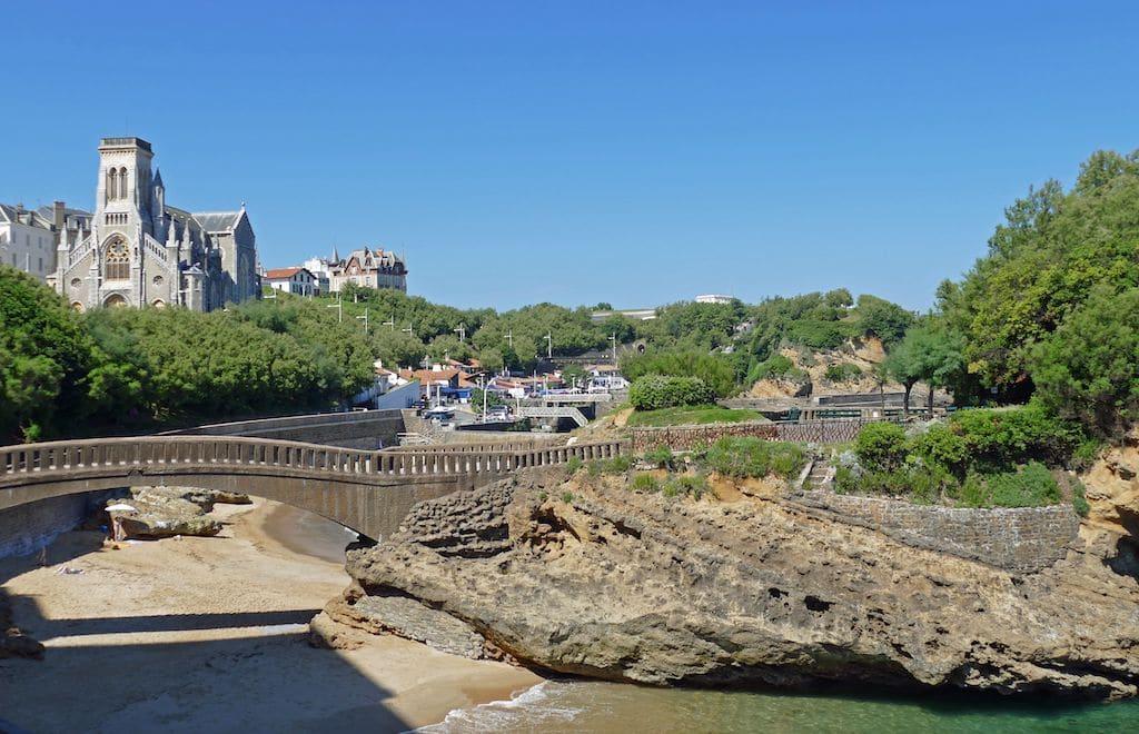 Biarritz le Port des Pecheurs ©F.Perrot