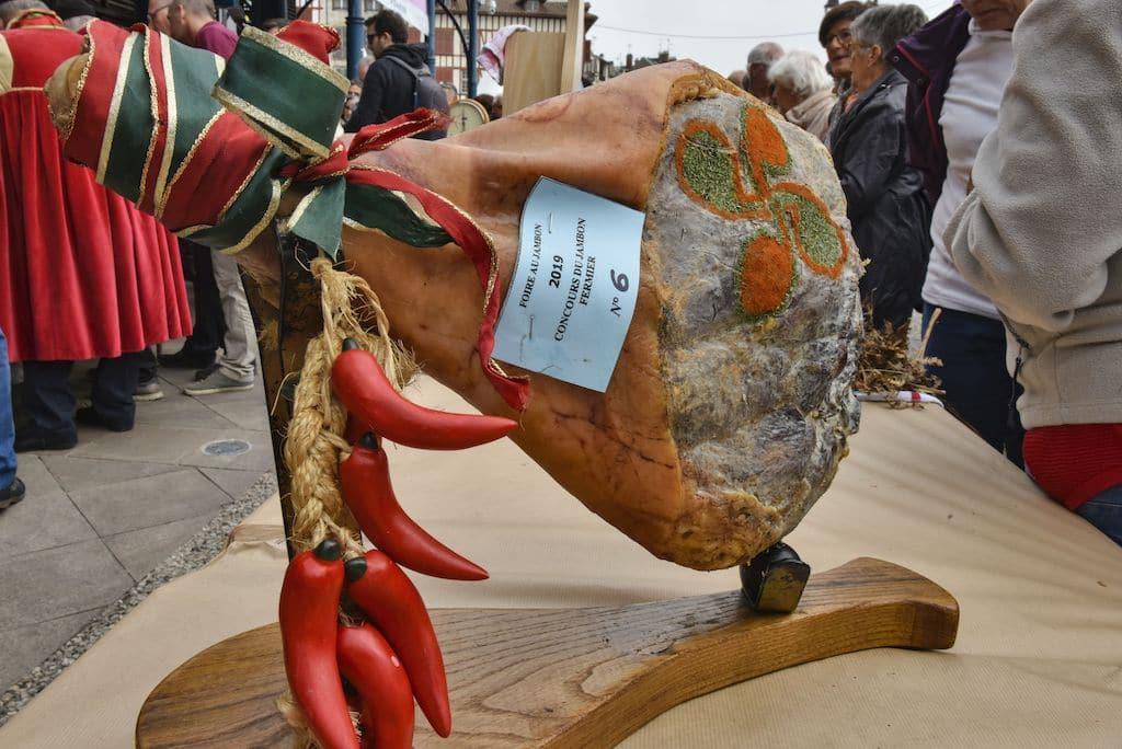 foire au jambon de Bayonne; concours du meilleur jambon
