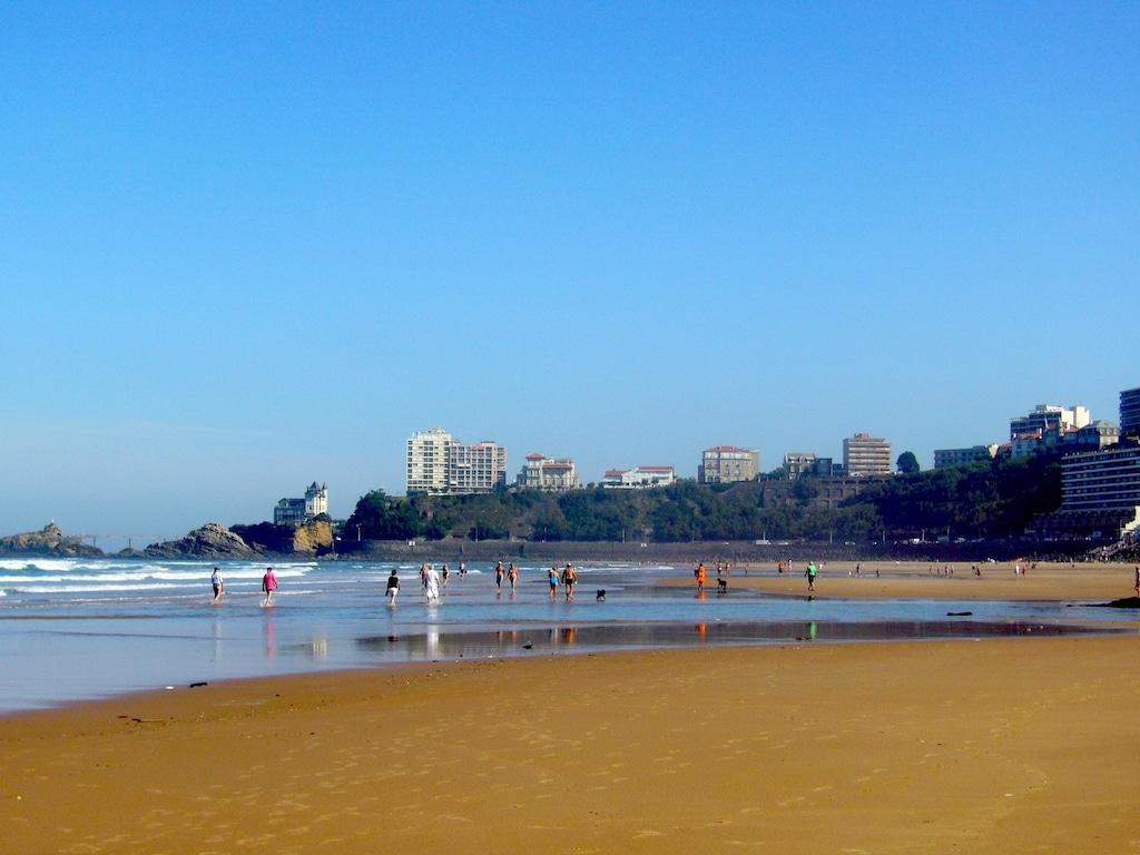 sejour-famille-cote-basque-Biarritz plage Côte des Basques 003©CDT64
