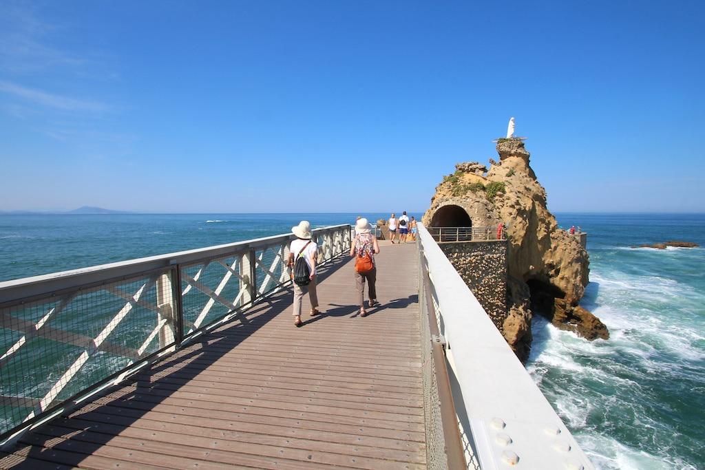 Biarritz (France) / Rocher de la Vierge