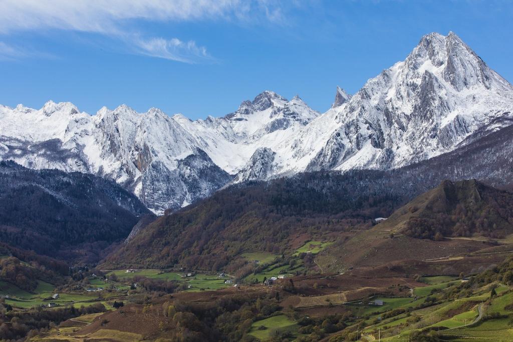 Premières chutes de neige - vallée d'Aspe - 07/11/2017