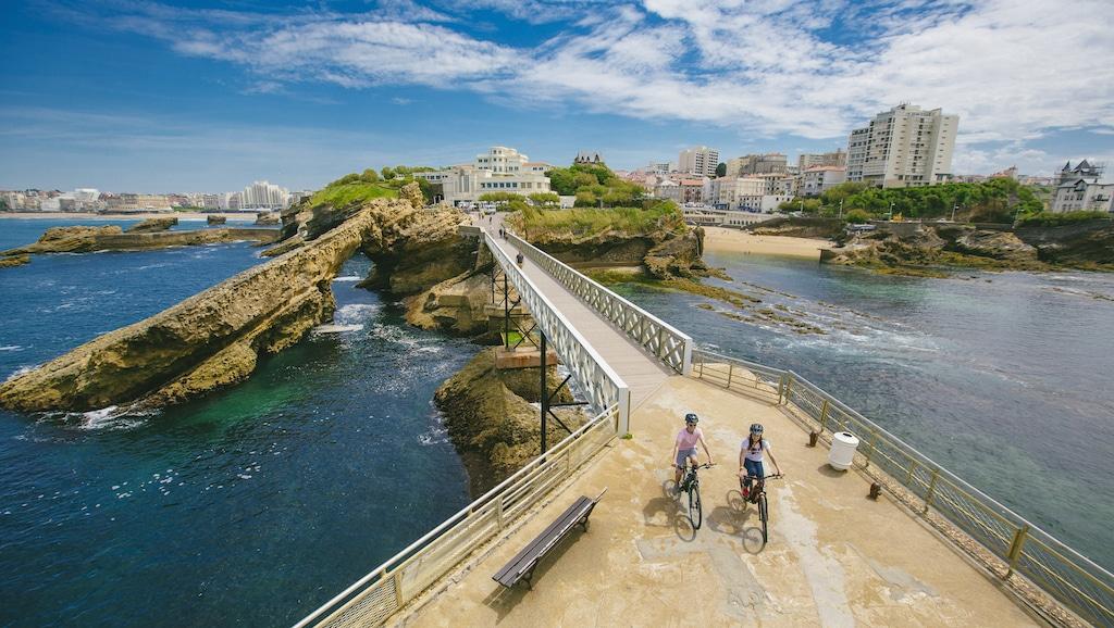 sejour-velo-paysbasque-Biarritz rando vélo VAE 007 ©Ziklo