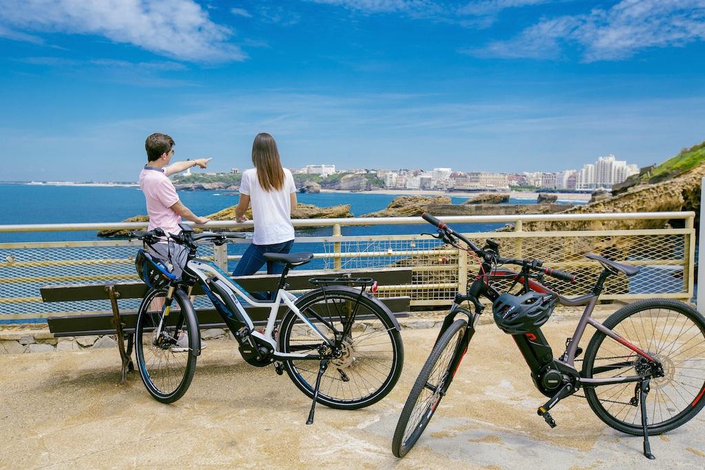 sejour-velo-paysbasque-Biarritz rando vélo VAE 009 ©Ziklo