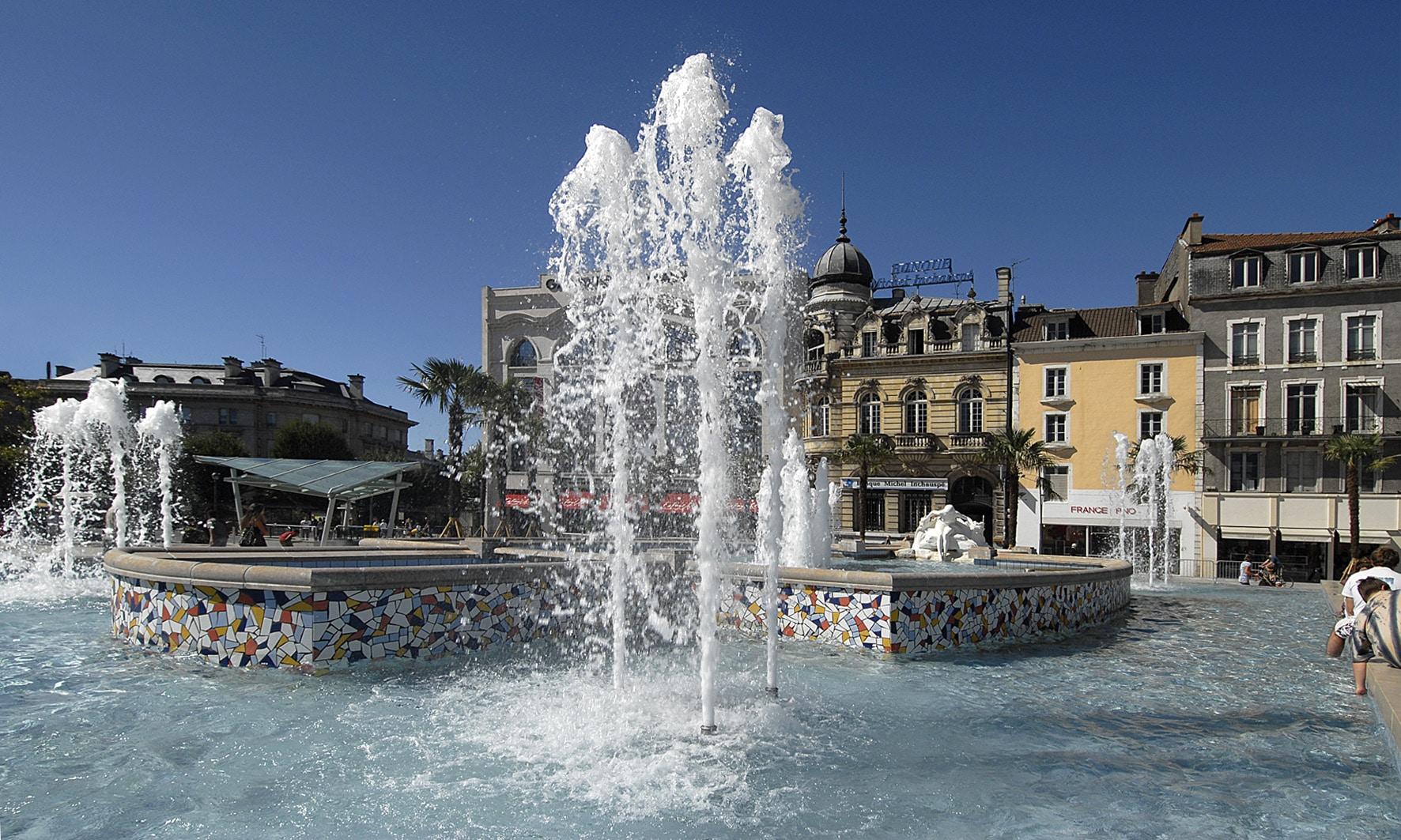 visite-guidée-bearn-pau-place-Clémenceau-1©PauPyrénéesTourisme-Guilhamasse