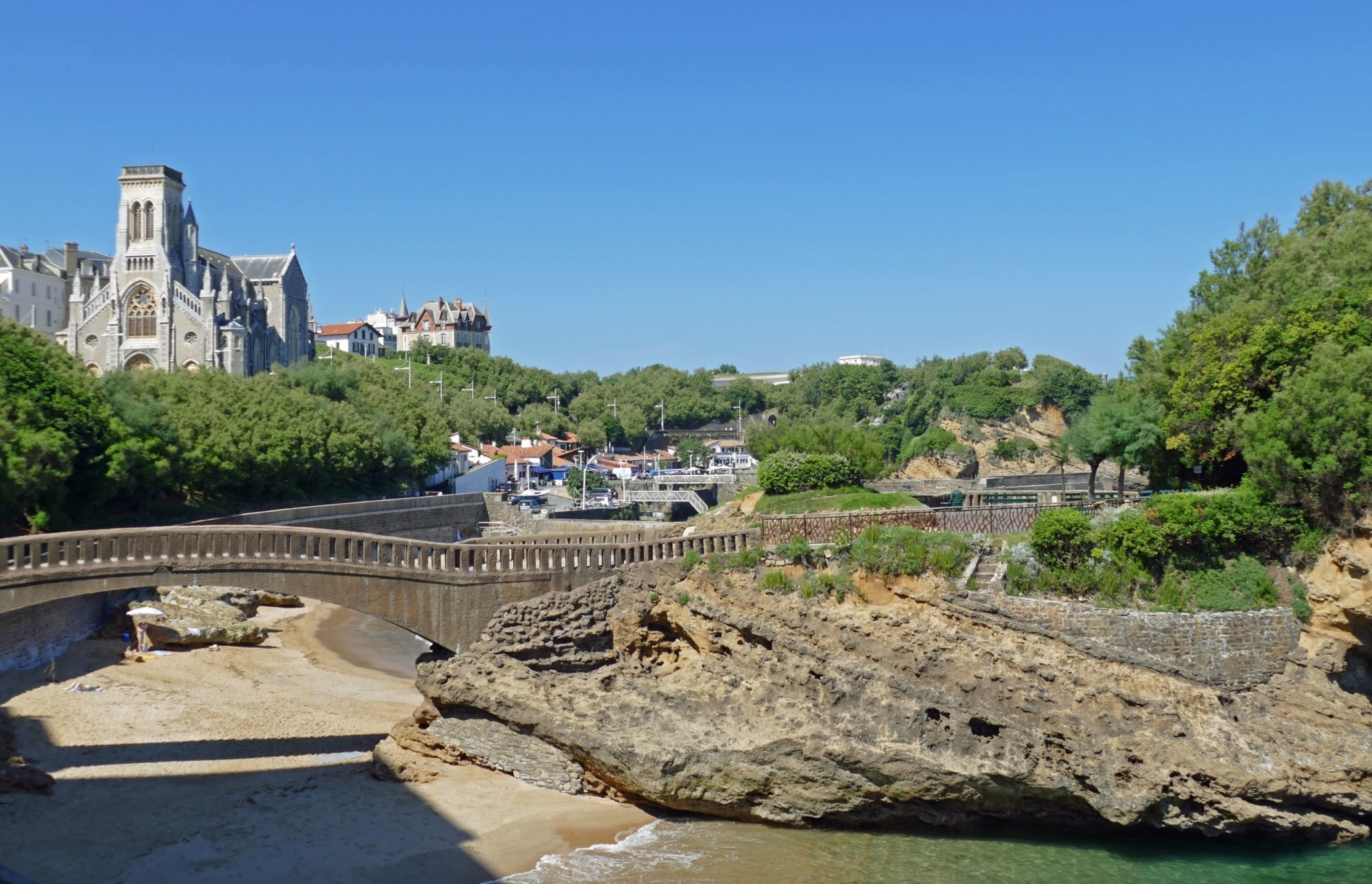 visite-guidee-paysbasque-Biarritz-Port-Pecheurs ©F.Perrot
