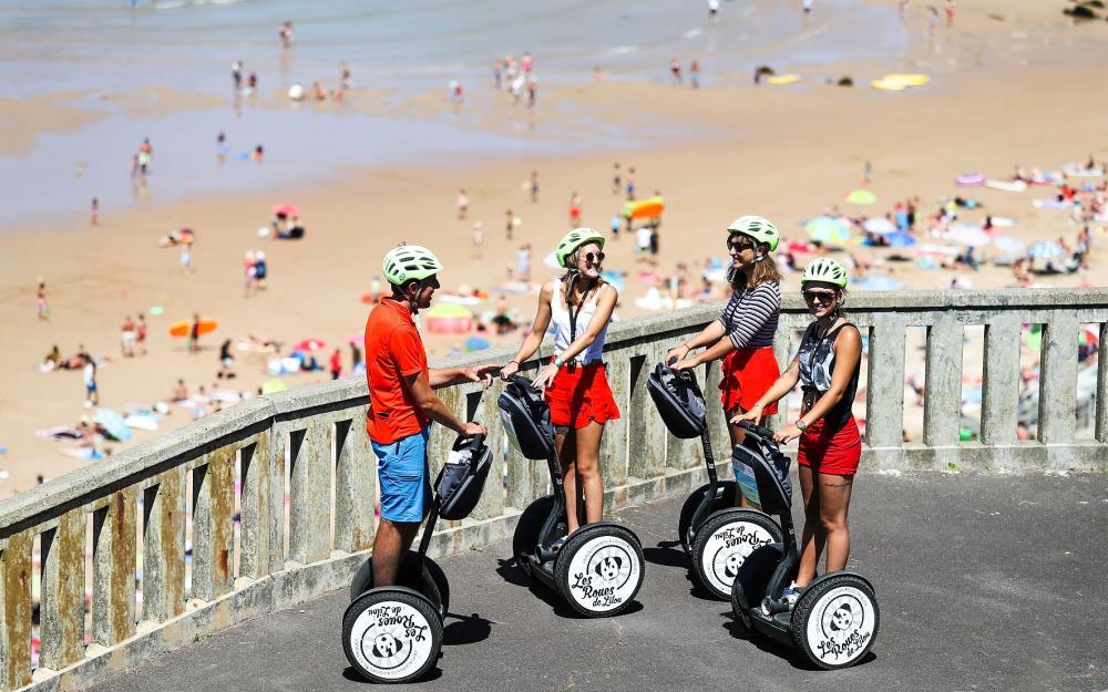 visite-guidee-paysbasque-Biarritz-segway