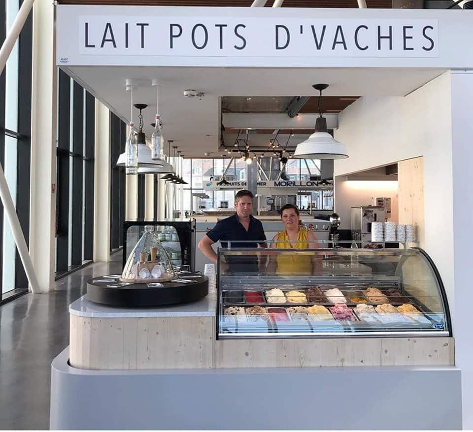 Espace Lait Pots d'vaches aux Halles de Pau (1er étage)