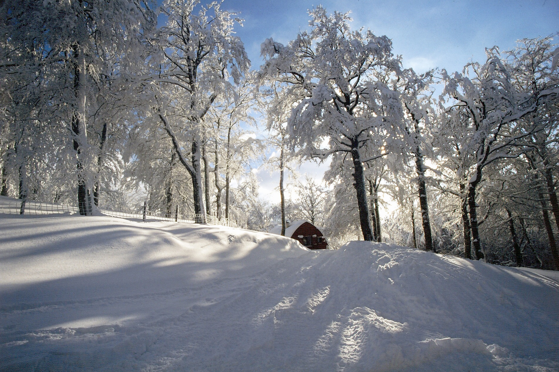 sejour-slowtourisme-paysbasque-chalet-Iraty-neige ©Chalets d_Iraty